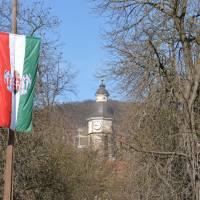 Nagymaros (čti Naďmaroš), centrum městečka