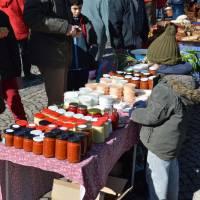 Nagymaros, velikonoční trh, aneb místní pro místní