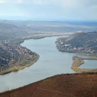 Vyšehradské vrchy, Predikaloszek, vyhlídka na Ohbí Dunaje