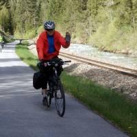 Stezka pod Tamswegem: cyklo, úzkokolejka a řeka