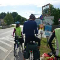 Porada na cyklostezce těsně před Grazem. Foto K.S.