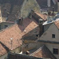 Brašov, střechy