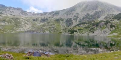 Retezat, jezero Bucura
