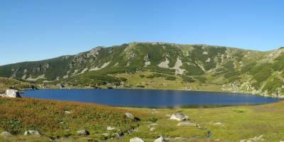 Retezat, jezero Zanoaga