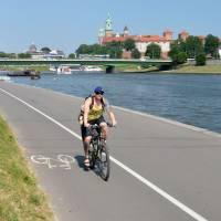 Parádní cyklostezka na břehu Visly