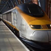 Vlak Eurostar Brusel - Londýn