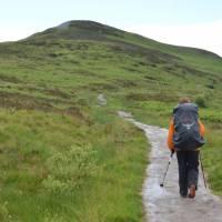 Conic Hill nad jezerem Loch Lomond