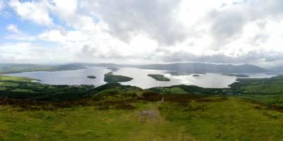 Loch Lomond z Conic Hill