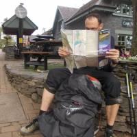 Plánujeme další cestu (osada Balhama na břehu jezera Loch Lomond)