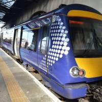 Skotský vlak (město Inverness)