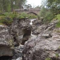 Cairngorm, kaňon řeky Dee