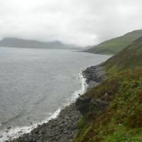 Skye, záliv Scavaig