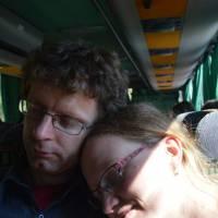 Cestou v autobuse Bělehrad - Černá Hora