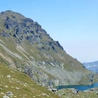 Pohled na Đeravici od Đeravických jezer