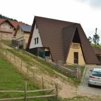 Bogë, turistické letovisko kosovského Prokletije, nová výstavba