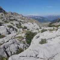 Černá Hora, údolí Zarunica, výstup na Zla Kolata, krasové útvary