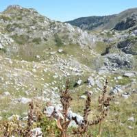 Černá Hora,  výstup na Zla Kolata, krasové útvary