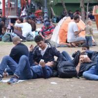 Bělěhrad: uprchlíci se balí z Blízkého východu do západní Evropy