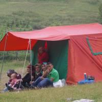 Kaçkar, piknik v Ayderu