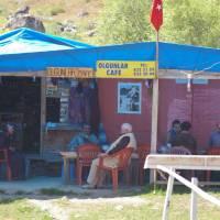 Kaçkar, vesnice Olgunlar, občerstvení