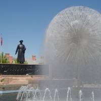 Erzurum, pomník Mustafu Kemalovi