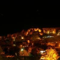 Kapadocie, Göreme v noci