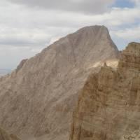 Aladagar, vrchol Demirkazi od Yasemin