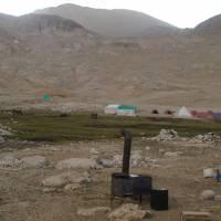 Aladagar, tábor u jezera Direk Gölü