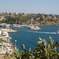 Antalya, přístav v centru