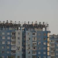 Antalya, les solárních kolektorů