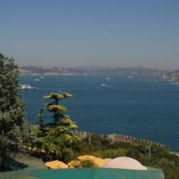 Istanbul, Bospor z paláce Topkapi