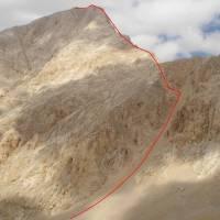 Aladagar, výstupová cesta na Demirkazik