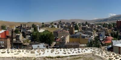 Erzurum, pohled z městské pevnosti
