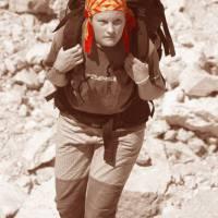 Aladagar, Martina-Bára stoupá do základního tábora pod horu Demirkazik