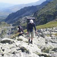 Šar planina, Evča a Pavel na skalách