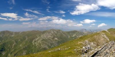 Šar planina, vzadu Titov vrv
