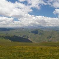 Šar planina, pohled na pohoří Korab