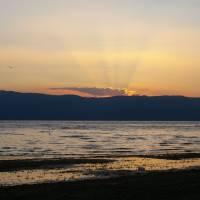pohoří Baba, Prešpanské jezero večer
