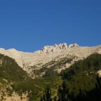 Olymp, pohled na horu Mytykas