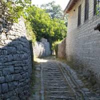 Řecko, pohoří Pindos, kamenná vesnička Monodendri