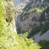 Řecko, pohoří Pindos, kaňon Vikos