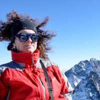 Na vrcholu Rysů (2499 m), na nejvyšší hoře Polska