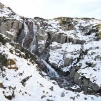 Údolí Roztoki, vodopád Siklava, nejmohutnější v celých Tatrách
