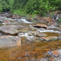 Czarna Wiselka, jedna ze dvou zdrojnic řeky Wisly