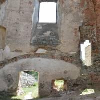 Hrad Gymeš - hlavní sál