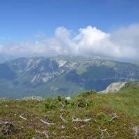 Pohled na Schneealpen od Heukuppe