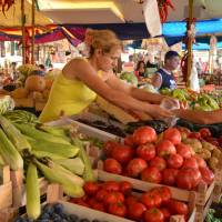 Pirot, sobotní trh