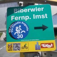 Označení Via Claudia Augusta v Rakousku
