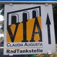 Via Claudia Augusta, reklamní poutač