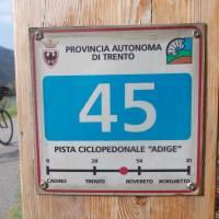 Cyklomilník v provinci Trento